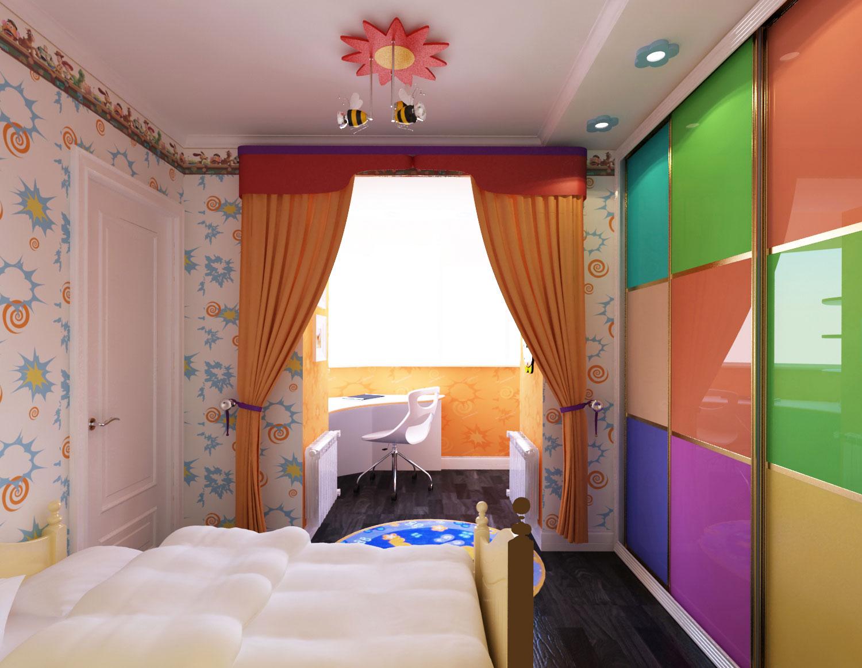 Объединение балкона с комнатой, 100500 фото удачных совмещен.