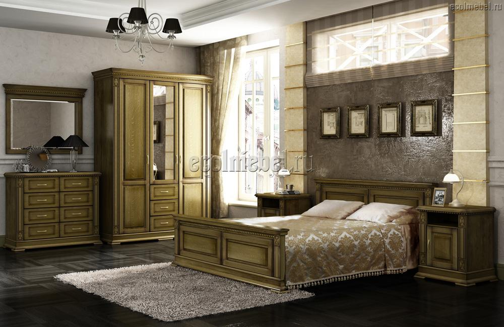 Спальня с мощной целебной энергетикой.