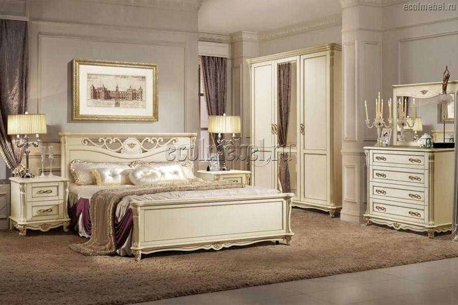 Мебель из массива в спальню