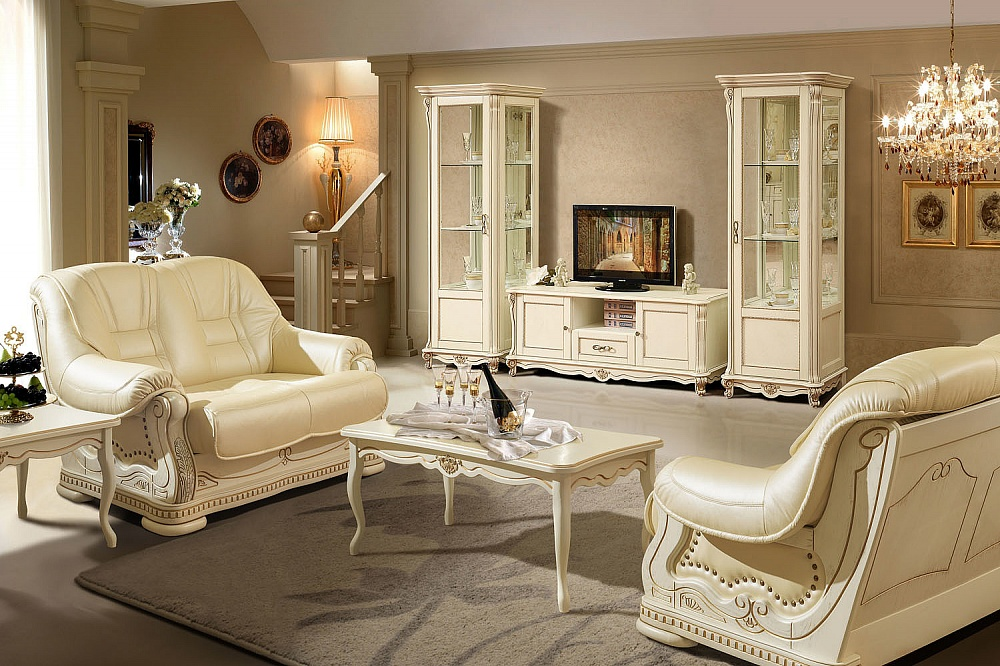 мебель для гостиной из массива дерева в москве купить