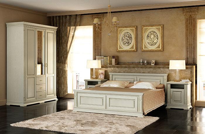 Белые спальни: гармония стиля.