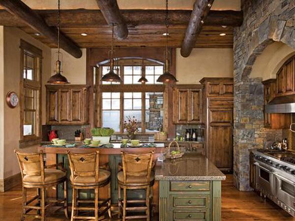 Дом в деревенском стиле